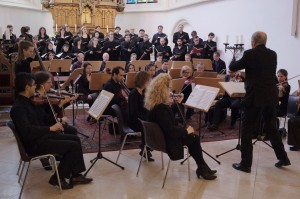 Beethoven Mass conducted by Erwin Ortner
